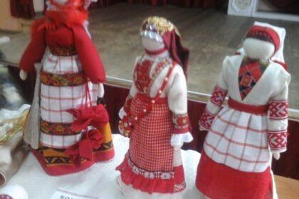 Фото удмуртских кукол