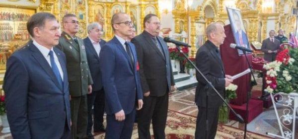 Удмуртия проводила в последний путь Александра Волкова