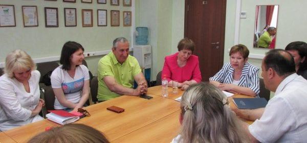 В Доме Дружбы народов прошла встреча по вопросам сотрудничества с Санкт-Петербургским Домом национальностей
