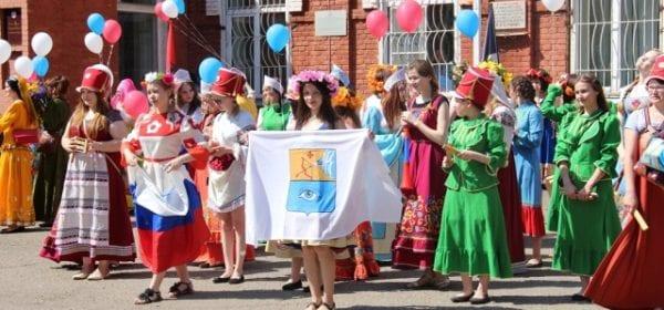 В Глазове прошел Парад дружбы народов России