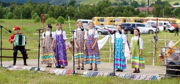 Русская песня по-над Камой-рекой