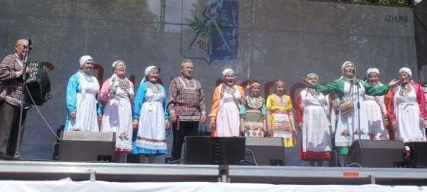 Творческие коллективы НКО приняли участие в праздничном концерте
