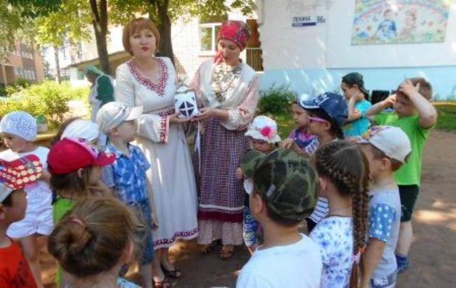 Ижевские дошкольники знакомятся с культурой народов России