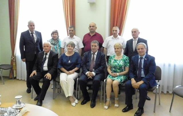 Дом Дружбы посетила делегация Азербайджанской Республики