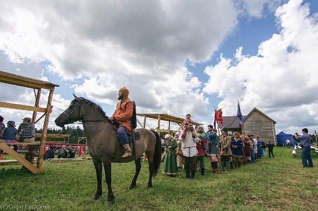 В Воткинском районе прошел фестиваль «Русь дружинная»