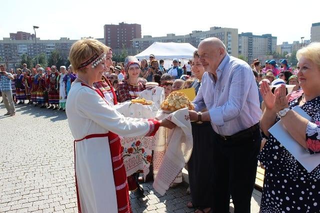 В Санкт-Петербурге состоялся удмуртский праздник Гербер