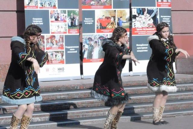 В Ижевске состоялся этнофестиваль «Мы объединяем народы»