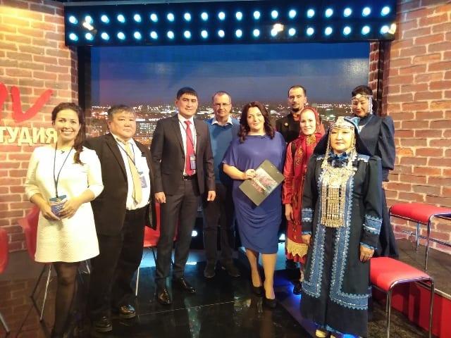 Сотрудники центра ремёсел Удмуртии представили выставку в Беларуси