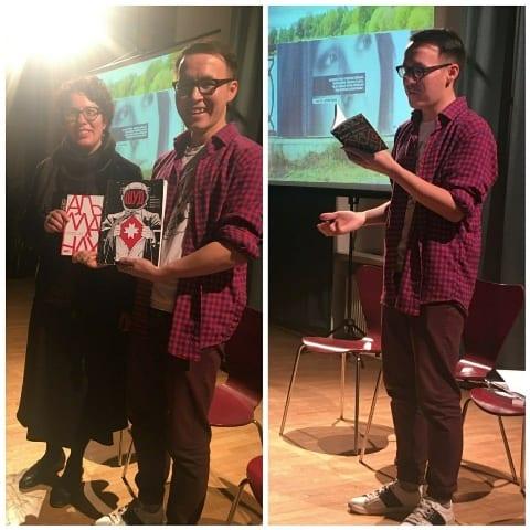 Литературная встреча прошла в Эстонии