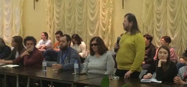 В Доме Дружбы народов прошел круглый стол журналистов Парадельфийских игр
