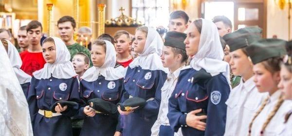 В Ижевске открылся детско-юношеский лагерь «Казачья смена»