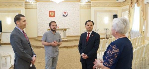 Китайский консул посетил Дом Дружбы народов