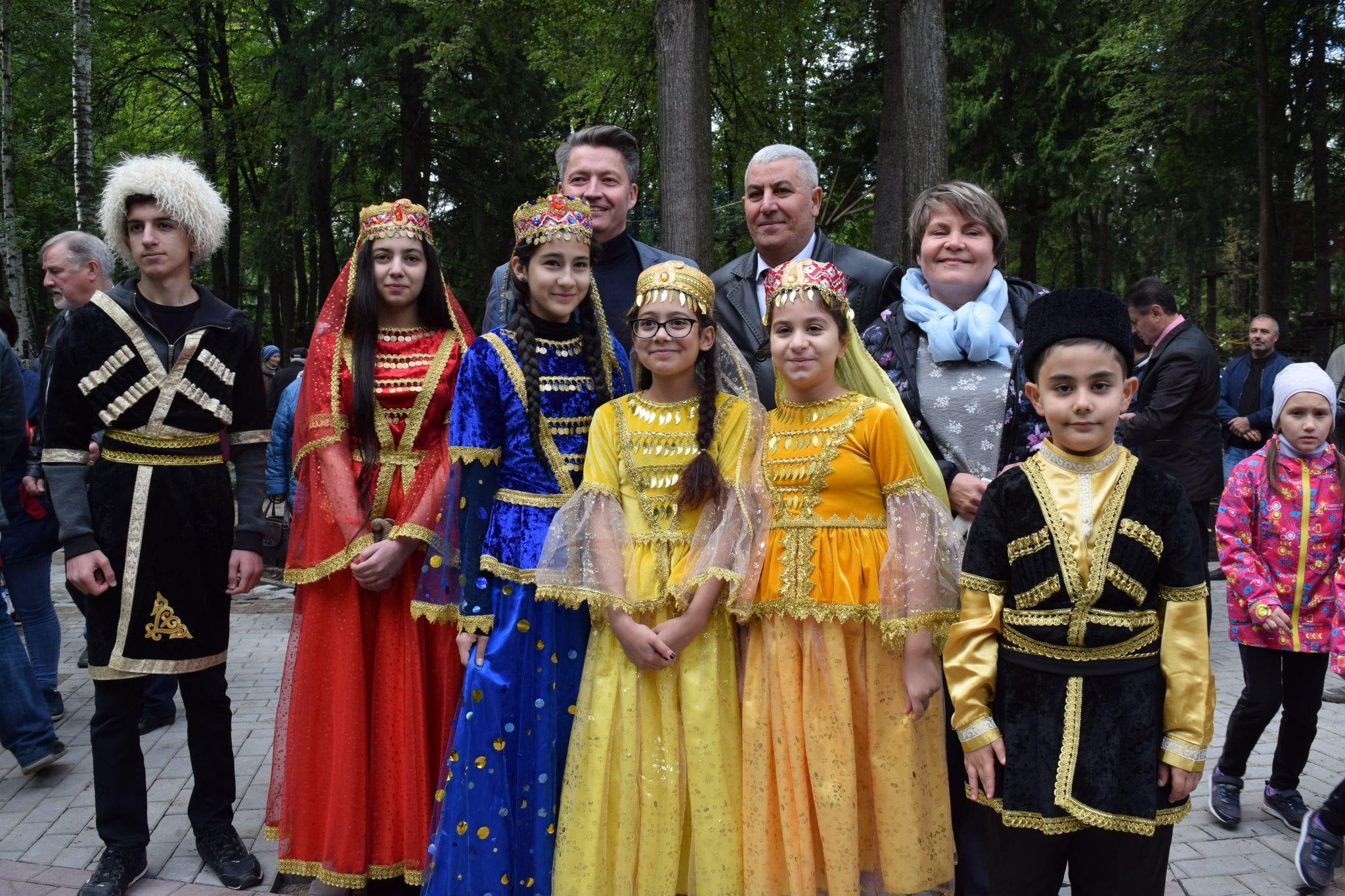 В Ижевске открылся Сад дружбы народов