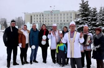 Обложка видео Поздравление от народов Удмуртии. Марийцы