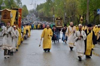 Шествие Великорецкого крестного хода