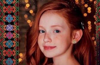 фото рыжей девочки удмуртки для детского конкурса красоты