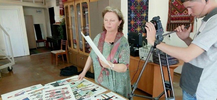 Фото с открытия лаборатории художественного текстиля в Удмуртии
