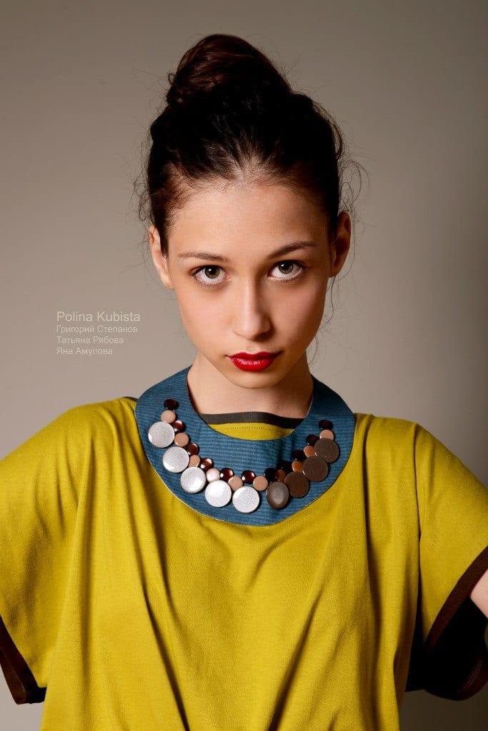 Фото девушка модель в монисто от Полины Кубисты