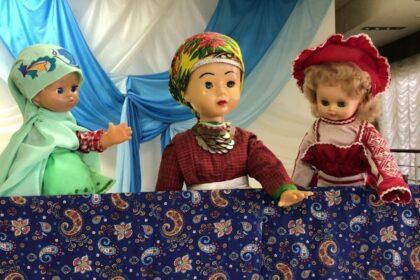 Обложка видео Кукольный спектакль. Загадки народов Удмуртии