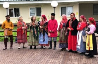 Фото коллектива на фестивале Высокий берег