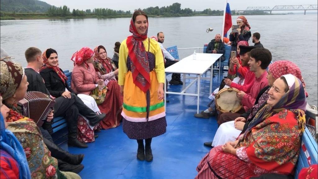 В Удмуртии завершился проект традиционной русской культуры «Высокий берег»