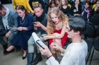 """Фото зрителей в аудитории молодёжного удмуртского театра """"Юмок"""""""