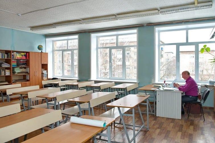 Фото нового учебного национального класса