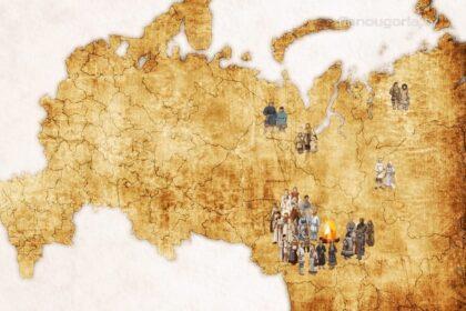 Этнографическая карта народов