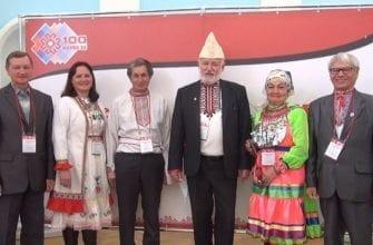 Фото участников съезда марийского народа