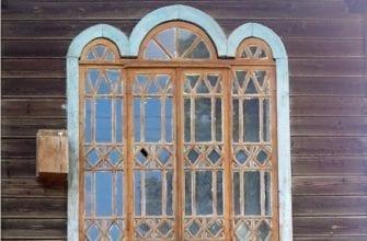 Фото исторического окна в Воткинске, ставшее народным достоянием России