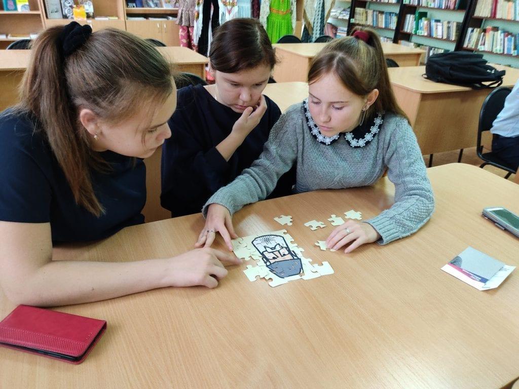 В Малой Пурге проходят интерактивные уроки удмуртского языка