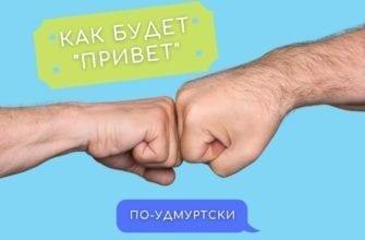 """Банер как будет по-удмуртски """"привет"""""""