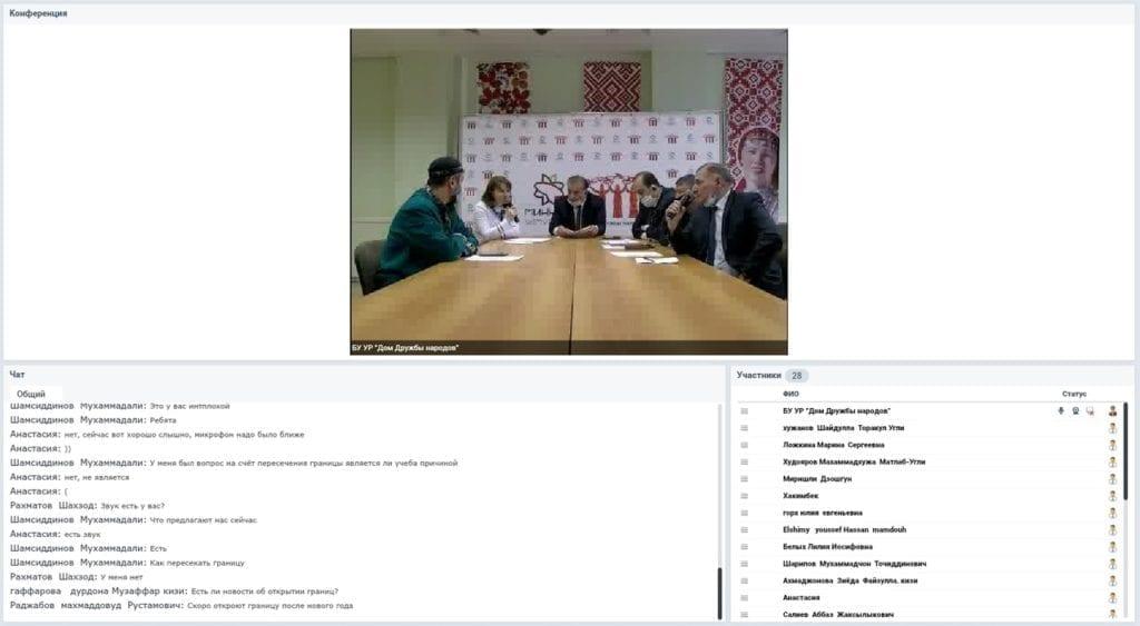 Иностранные студенты-первокурсники познакомились с деятельностью НКО Удмуртии