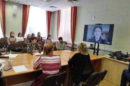 фото научно-практической конференции по творчеству Кузебая Герда